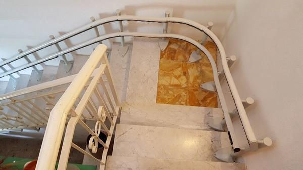 vista scale installazione montascale sassello