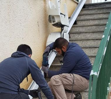 Montascale2C, servizio di manutenzione ed assistenza