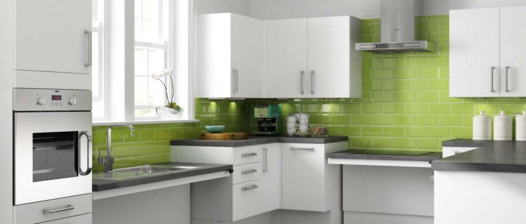 esempio di cucina senza barriere architettoniche
